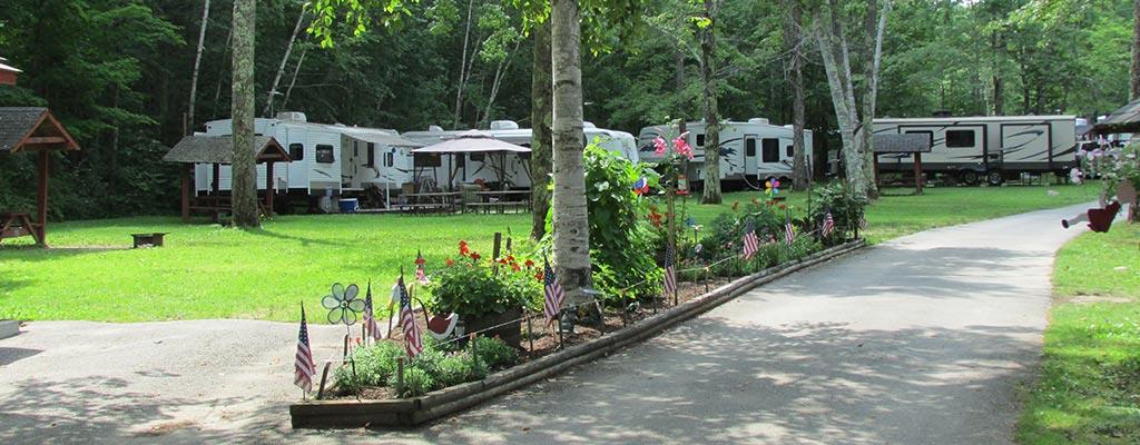 Maine Campground Tent Sites Rv Sites Cottage Rentals